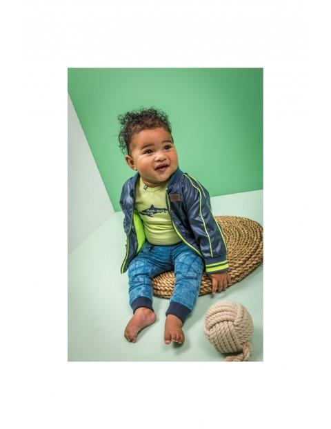 Kurtka niemowlęca przejściowa- granatowa