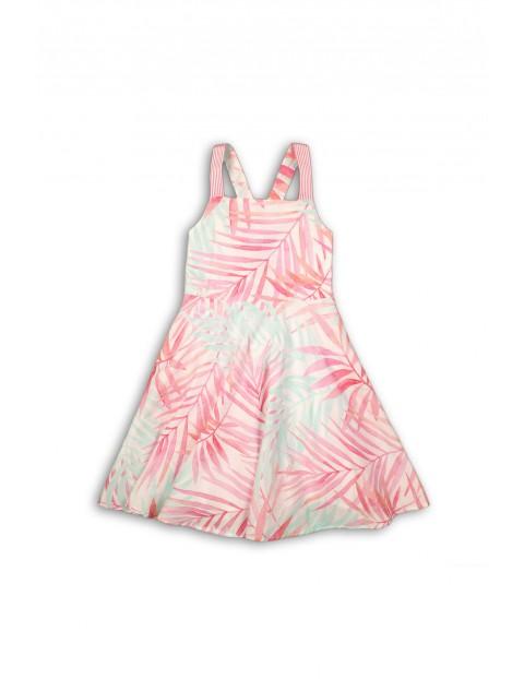 Sukienka na lato- kolorowe liście