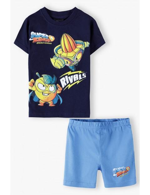 Bawełniana pidżama chłopięca Super Zings