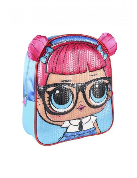 Plecak 3D premium LOL z cekinami