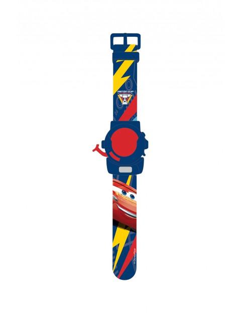 Zegarek dziecięcy  na rękę z projektorem  - 6 obrazków - Auta