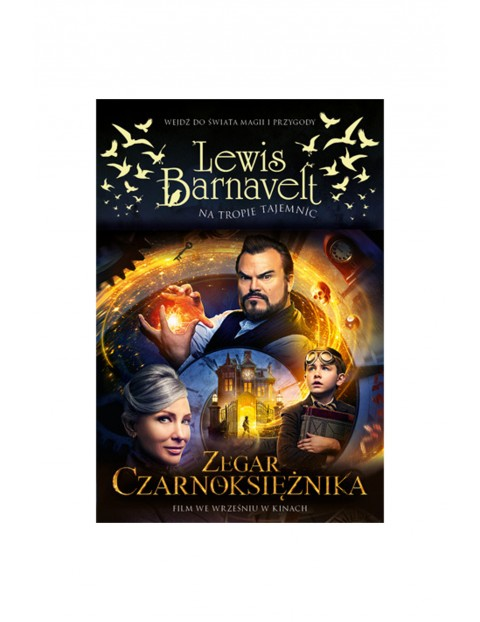 """Książka """"Zegar czarnoksiężnika""""- Lewis Bernavelt"""