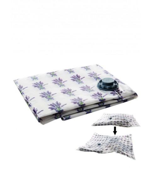 Worek próżniowy na ubrania, pościel 80x120 cm