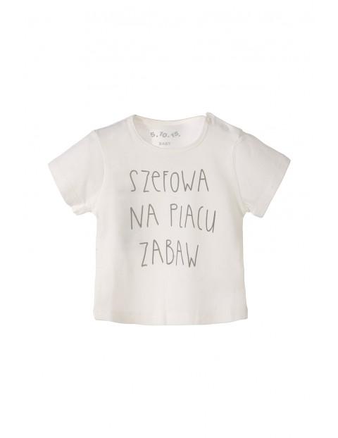T-shirt niemowlęcy 5I3216