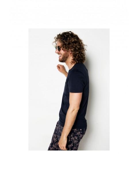 Pidżama męska t-shirt