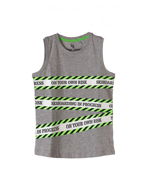 Koszulka chłopięca na lato- Sk8boarding