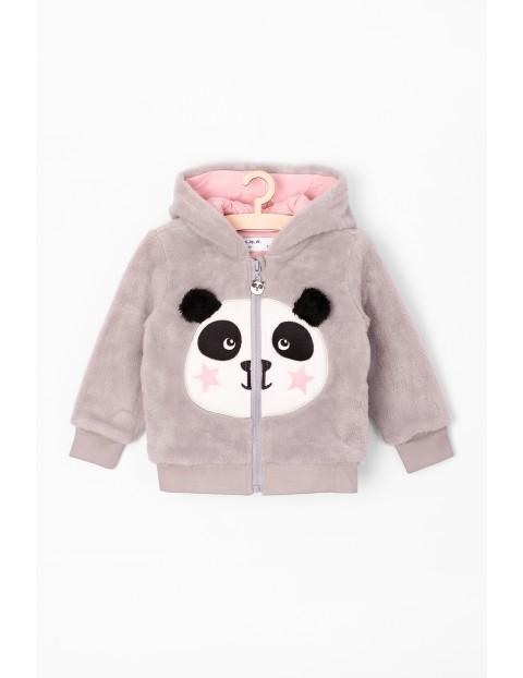 Bluza niemowlęca szara z Pandą