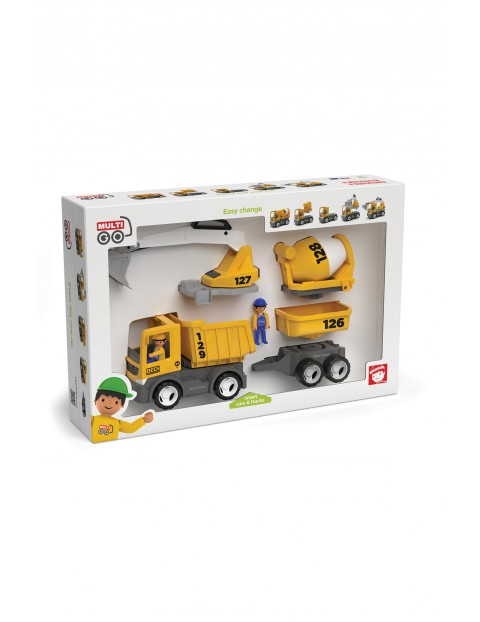 Pojazdy budowlane- zabawka dla dzieci