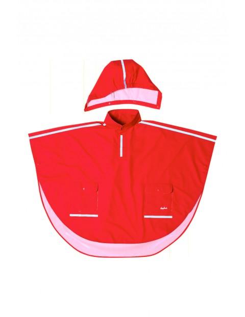 Poncho przeciwdeszczowe czerwone