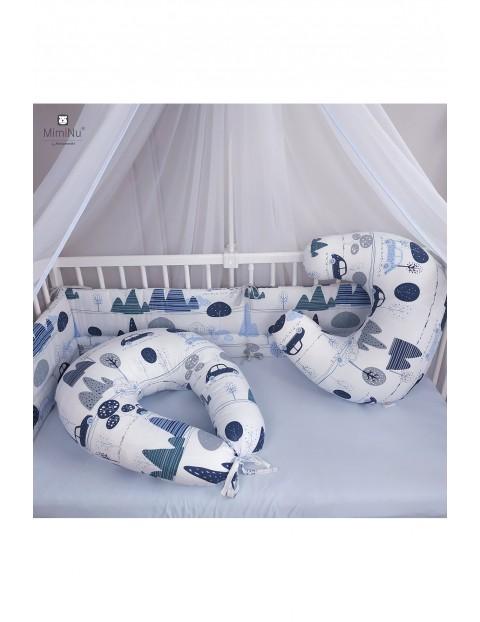 Bawełniana poduszka do karmienia 155cm obwód - Dziecięca Podróż