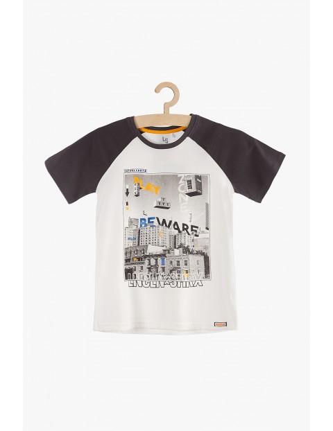 T-shirt chłopięcy Code Create- 100% bawełna