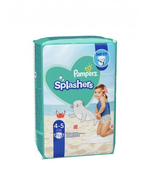 Pampers Splashers, Rozmiar 4-5, 11 Jednorazowych pieluch do pływania