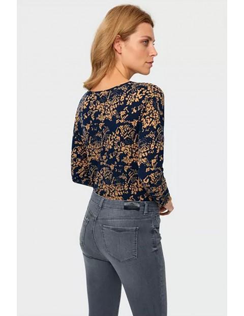 Spodnie damskie jeansowe - niebieskie