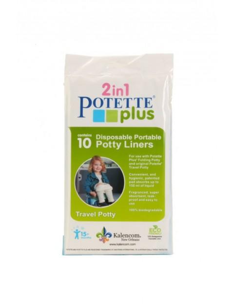 Jednorazowe wkłady do nocnika Potette Plus 10 szt