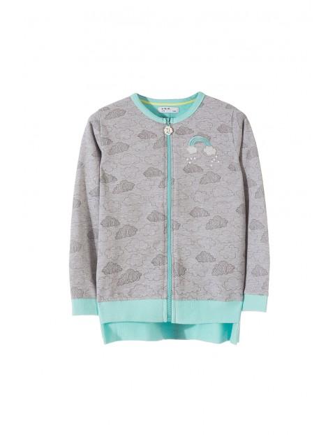 Bluza dresowa dla dziewczynki 3F3202