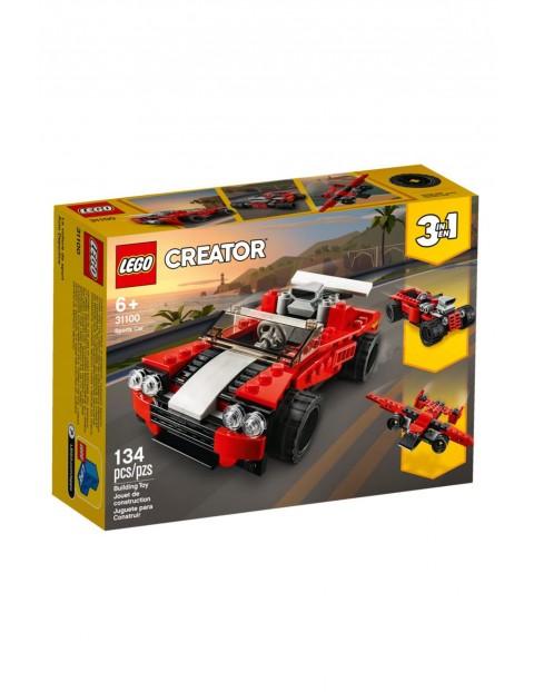 Lego Creator - Samochód sportowy - 134 elementy wiek 6+