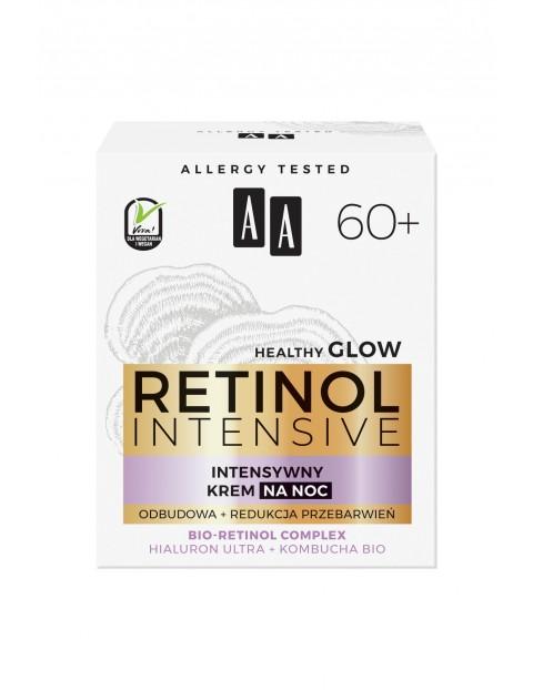 AA Retinol Intensive 60+ intensywny krem na noc odbudowa+redukcja przebarwień 50 ml