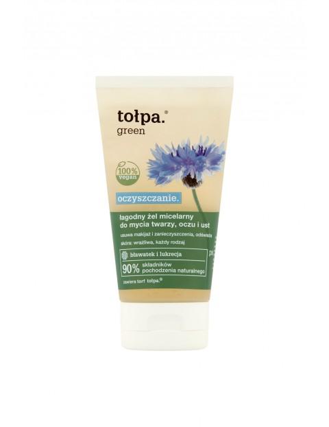 Łagodny żel micelarny do mycia twarzy, oczu i ust  - oczyszczanie 150 ml