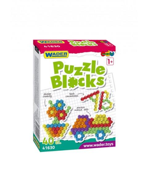 Klocki puzzle 40el. w kartonie 1Y36FF