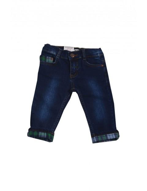 Spodnie chłopięce jeansowe 1L35BL