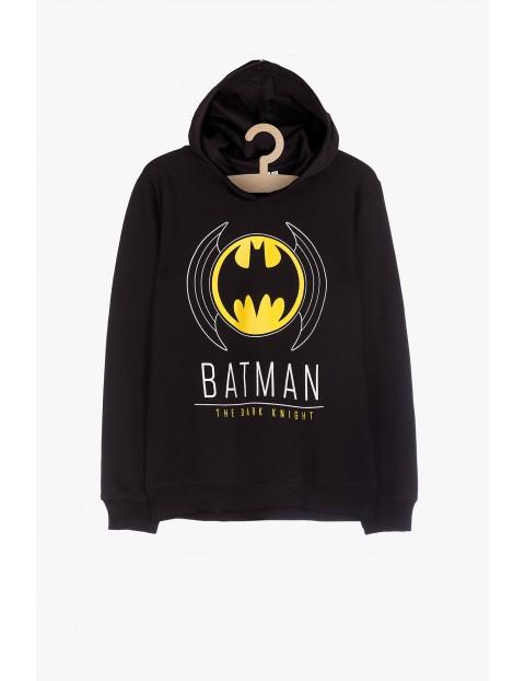 Batman- czarna bluza dresowa z kapturem