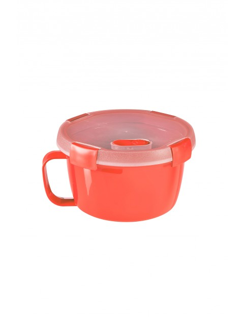 Pojemnik na żywność okrągły NOODLES Curver - czerwony