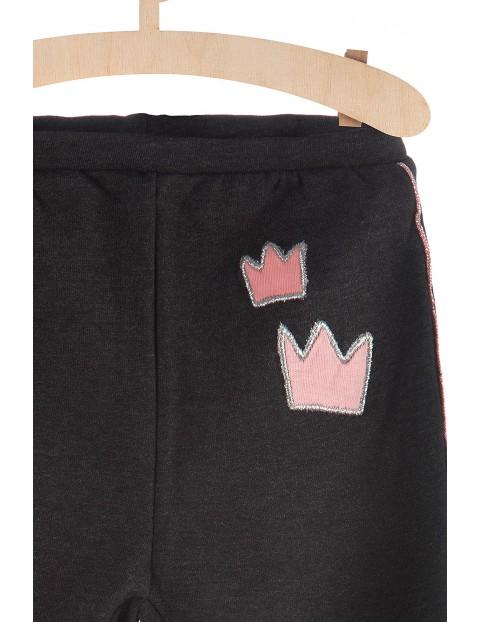 Spodnie dziewczęce ocieplane