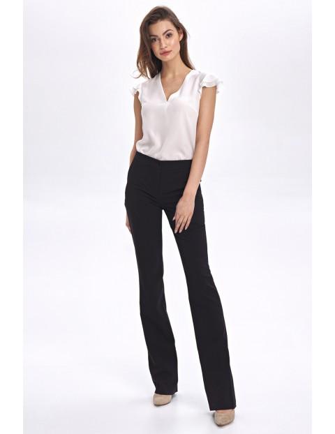 Eleganckie klasyczne spodnie damskie- czarne