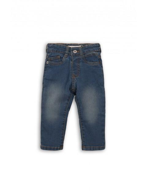 Spodnie niemowlęce jeansowe 5L35AU
