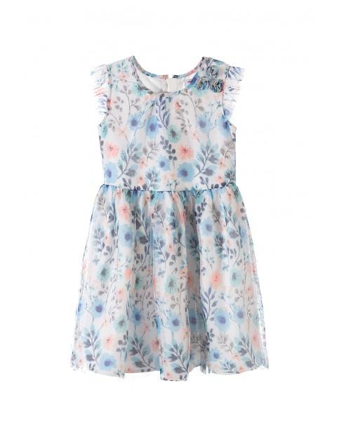 Sukienka dziewczęca 4K3408
