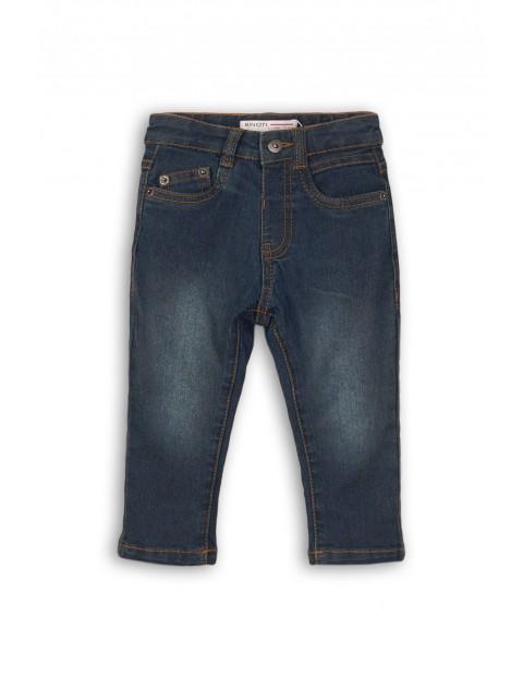 Spodnie chłopięce jeansowe 1L35BH