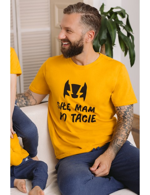 T-shirt męski - Siłę mam po tacie