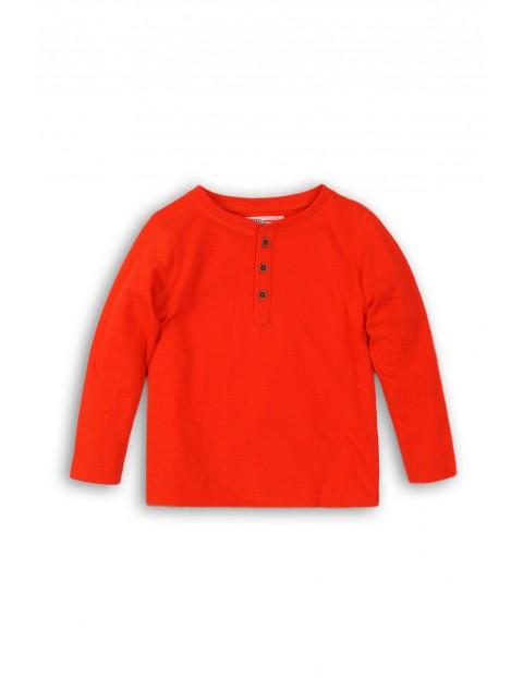Bluzka niemowlęca bawełniana- pomarańczowa