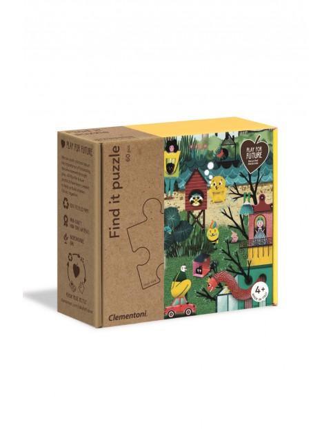 Puzzle Znajdź to Jesień Clementoni - 60 el