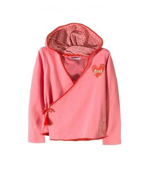 Bluza dresowa dziewczęca 4F3408