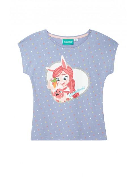 Koszulka dziewczęca Enchantimals-kolorowy nadruk