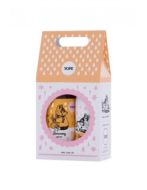Kosmetyki Yope - Zimowy poncz mydło i balsam