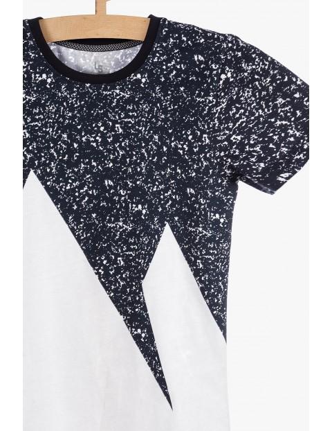 T-shirt z modnymi nadrukami- 100%Bawełna