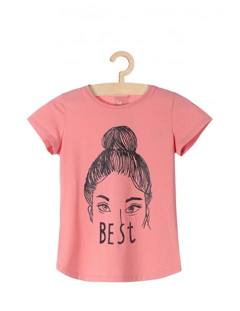 T-shirt dla dziewczynki Best