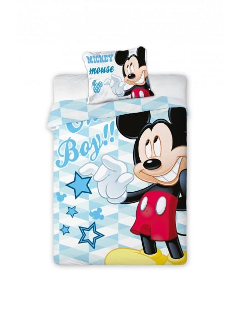 Komplet pościeli Mickey-100x135 + 40x60 cm
