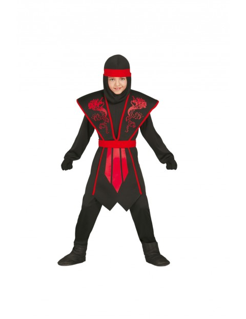 Strój Karnawałowy Ninja 5-9 lat 1Y36AF