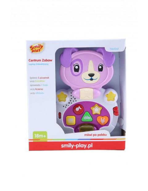 Interaktywna zabawka niemowlęca - Laptop interaktywny wiek 18msc+