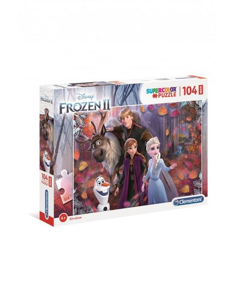 Puzzle Maxi super Color Frozen 2  - 104  elementy wiek 4+