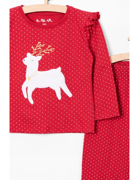 Piżama świąteczna dla dziewczynki