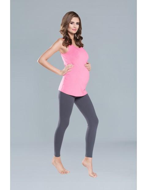 Koszulka damska EWELINA szerokie ramiączka - różowa