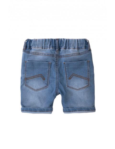 Szorty niemowlęce jeansowe