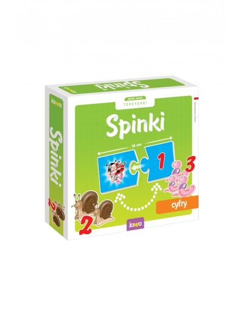 Układanki edukacyjne Spinki - Cyfry