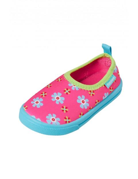 Buty kąpielowe z filtrem UV Kwiatki