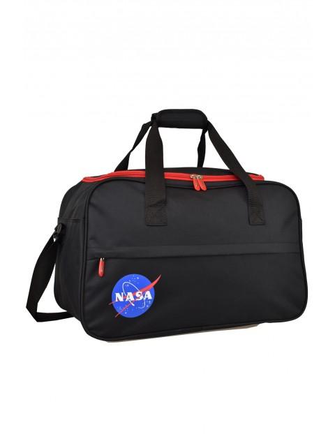 Torba fitness NASA czarno-czerwona