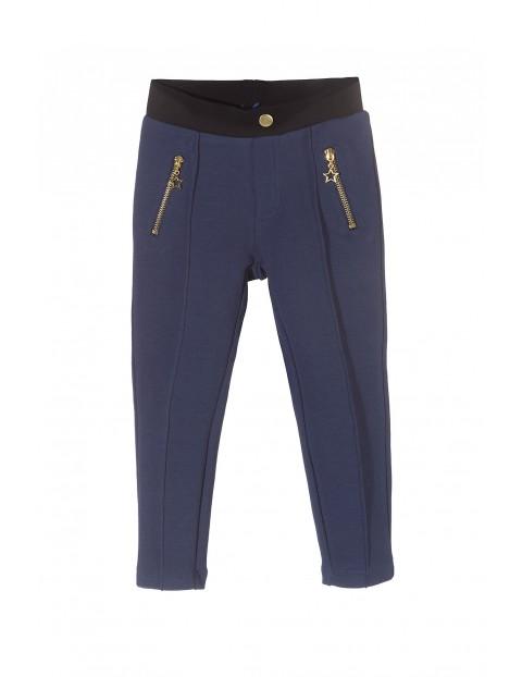Spodnie dzianinowe dziewczęce 3L3107